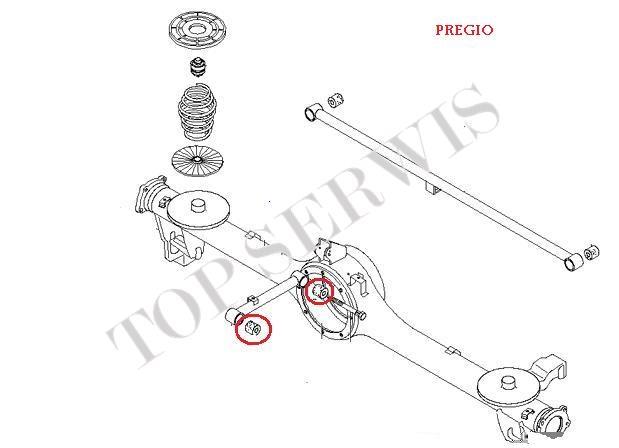 TULEJA TYLNA DRĄŻKA ZAWIESZENIA 0K72A-28-830B (Z)
