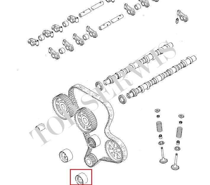 ROLKA PASKA ROZRZĄDU 0K88R-12-740 (Z)